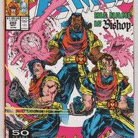 Uncanny X-Men; V1, 282.  NM+.  Nov 1991.  Marvel Comics