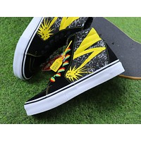 Bad Brains x Vans Vault Sk8 Hi LX Casual Shoes Plate Shoes - Sale