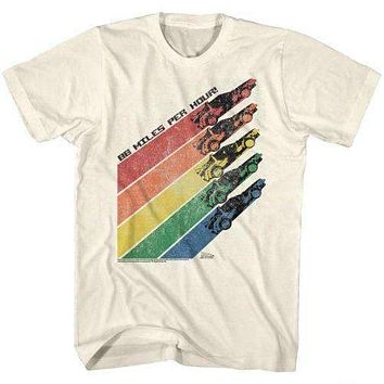 Back to the Future Retro Rainbow T-Shirt