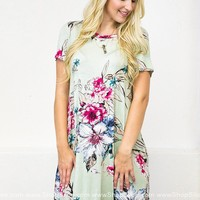 Picnic Floral Pocket Dress