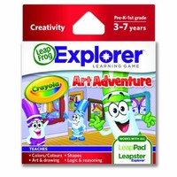 LeapFrog Explorer Learning Game: Crayola Art Adventure