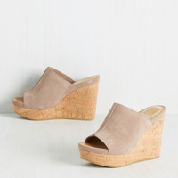 Dolce Vita Ask for 'Em by Fame Wedge | Mod Retro Vintage Heels | ModCloth.com