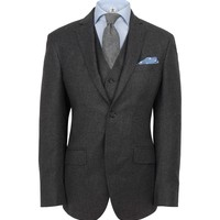 Hackett Mayfair Flannel Suit  - Suits - Shop By Product - Men | Hackett