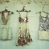 ruffles & sequins - which dress to choose