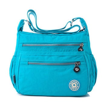 Messenger bags nylon women bag shoulder Crossbody Bags fashion Ladies handbags 9 color school bags