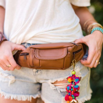 Let's Go Leather Fanny Pack