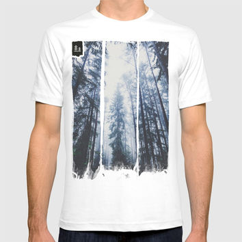 The mighty pines T-shirt by happymelvin
