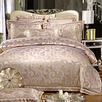 PRINCESS 4-Piece Luxury Bedding Duvet Cover Set - Bronze (King, Queen)