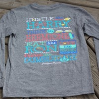 Jadelynn Brooke Hustle Like Harry - Long Sleeve