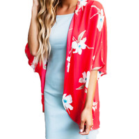 Casual Hawaiian Cover-up