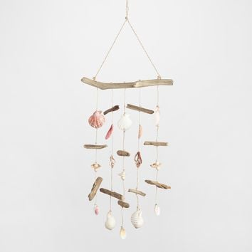 Driftwood and Shells Hanging Decor