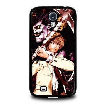 death note ryuk and light samsung galaxy s4 case cover  number 3