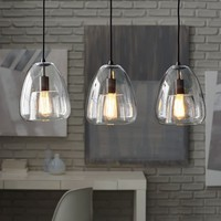 Duo Walled Chandelier - 3-Light