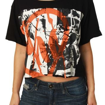 Metal Mulisha Women's Shattered Crop Top