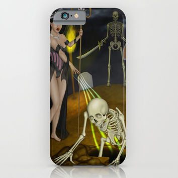 Skeleton iPhone & iPod Case by Egberto Fuentes