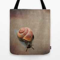 Caracol Tote Bag by Sandy Broenimann