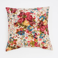 Large 20x20 Floral Perfection Pillow
