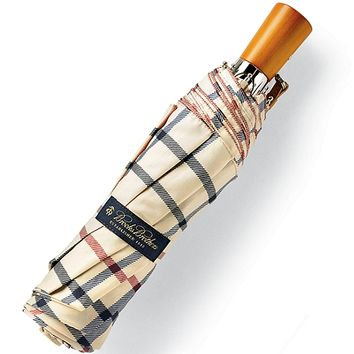 Brooks Brothers Plaid Mini Umbrella - Brooks Brothers