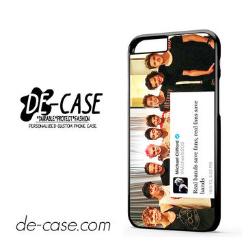 5sos And One Direction Fan Twit For Iphone 6 Iphone 6S Iphone 6 Plus Iphone 6S Plus Case Phone Case Gift Present