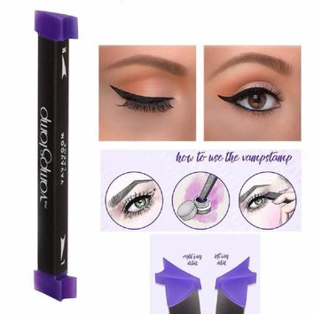 Vamp Stamp Stamps Eyeliner Tool Beauty Makeup Brush New Wing Style Kitten Large Size Easy To Makeup Eyeliner Stamp Cat Eye