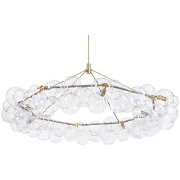 PELLE Wreath Bubble Chandelier - LED