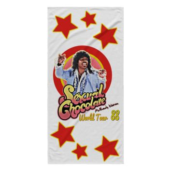 sexual chocolate Randy Watson 1988 World Tour funny towel