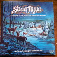 Vintage Christmas Vinyl Record Album Xmas Silent Night Collection of Best Loved Songs Jingle Bells Joy Deck the Halls 12 Days and more Love