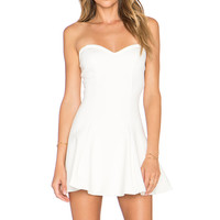 Lovers + Friends x REVOLVE Wisteria Fit & Flare Dress in Ivory