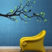 Vinyl Wall Sticker Decal Art  Tree Branch by urbanwalls on Etsy