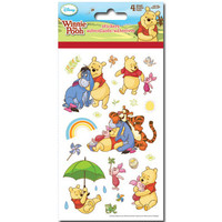 Winnie the Pooh Sticker (4 sheets) Winnie the Pooh Baby Shower • Winnie the Pooh Birthday Party Favor • Winnie the Pooh Stickers (ST2511)