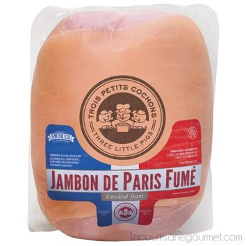 Three Little Pigs - Smoked French Style Ham 8 Lbs