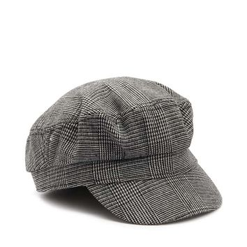 Plaid Cabby Hat