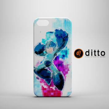 Digital Megaman Custom Case for iPhone 6 6 Plus iPhone 5 5s 5c GalaxyS 3 4 & 5 6 and Note 3 4 5