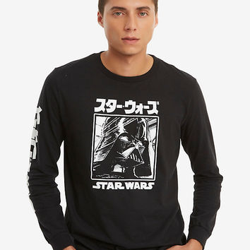 Star Wars Manga Darth Vader Long-Sleeve T-Shirt