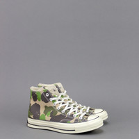 CONVERSE CHUCK TAYLOR 70's HI CAMO CANDIED GINGER – BLENDS