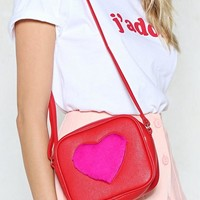 WANT We Heart You Vegan Leather Bag