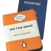 Penguin Passport Case: On the Road (Orange)