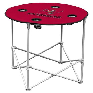 Tampa Bay Buccaneers NFL Portable Round Table