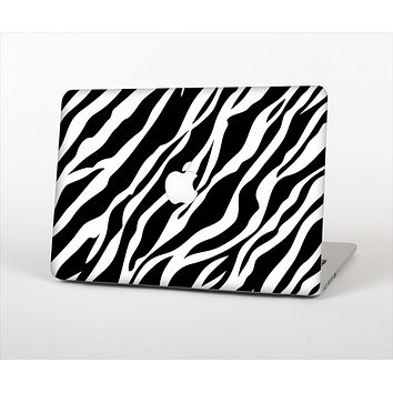 "The Simple Vector Zebra Animal Print Skin Set for the Apple MacBook Pro 13"" with Retina Display"
