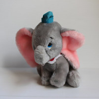 DUMBO Plush stuffed ELEPHANT,  Walt Disney Plush, vintage Dumbo, vintage Disney, Vintage stuffed toy, vintage plush, gift for child