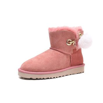 Best Deal Online Fashion UGG Pink LIMITED EDITION CLASSICS Boots Women Shoes 1017501