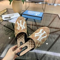 Gucci Yankees Slippers Style #3 - Best Online Sale