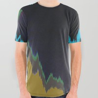 Unstable All Over Graphic Tee by duckyb