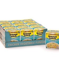 Maruchan Instant Lunch, Chicken Vegetable, 2.25-Ounce Packages (Pack of 12)