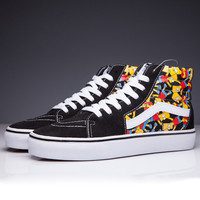 Trendsetter VANS X Simpson SK8-Hi Canvas Flats Sneakers Sport Shoes