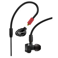 Pioneer: DJE-2000-K Professional DJ In-Ear Earphones - Black