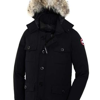 Canada Goose Trending Women Men Stylish Zipper Cardigan Cotton Coat Down Jacket
