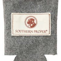 Beer Sweater Can Holder in Grey by Southern Proper