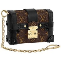 Louis Vuitton Runway Miniature Essential Trunk Bag