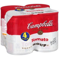 Campbell's Tomato Soup, 10.75 oz, 4 pack - Walmart.com